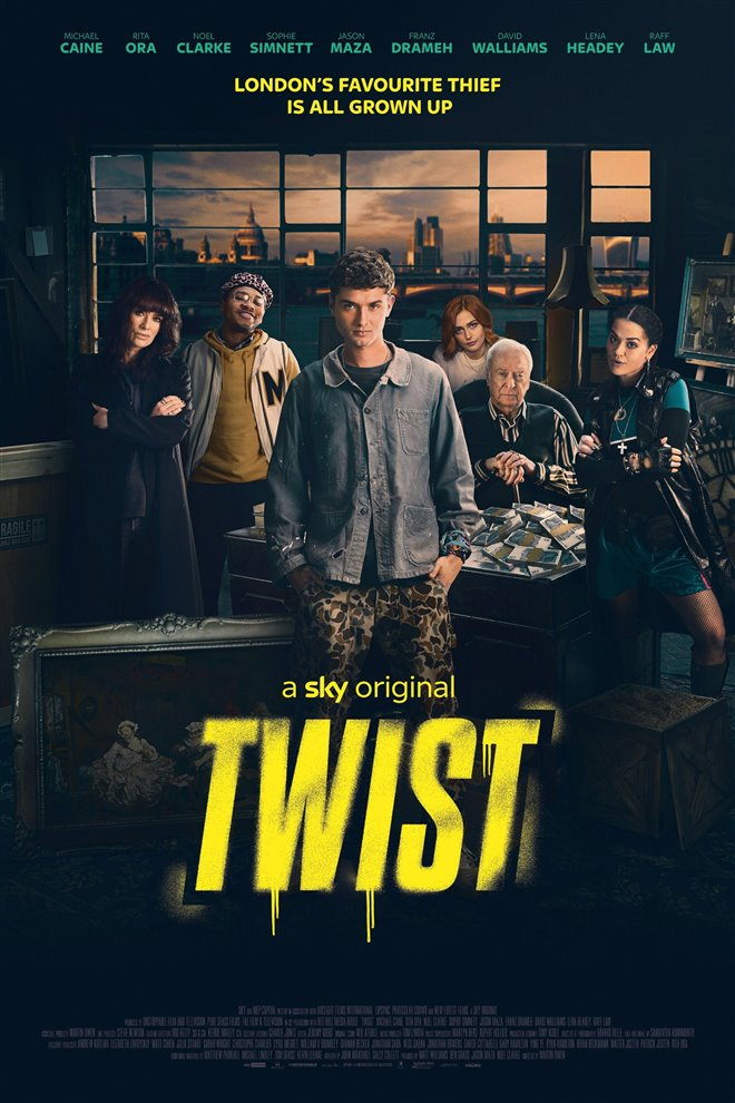 Twist Large Poster