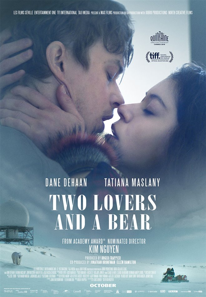 Two Lovers and a Bear Large Poster