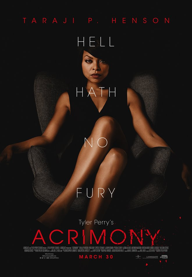 Tyler Perry's Acrimony (v.o.a.) Large Poster