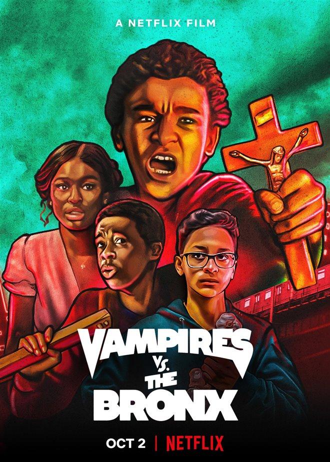 Vampires vs. the Bronx (Netflix) Poster