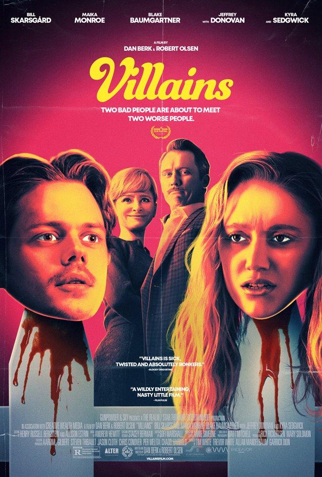 Villains Large Poster