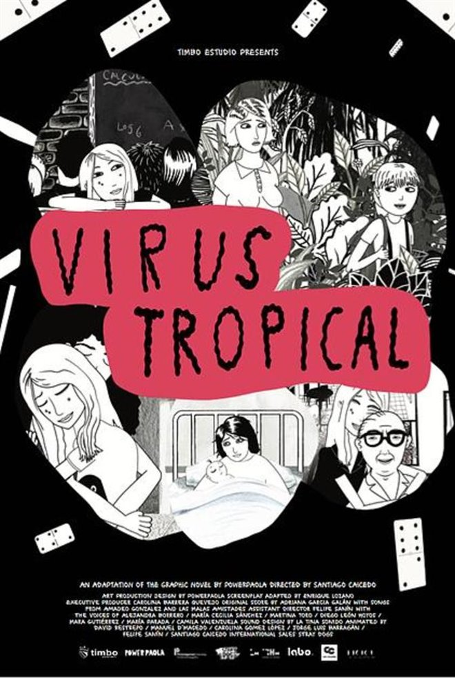Virus Tropical Large Poster