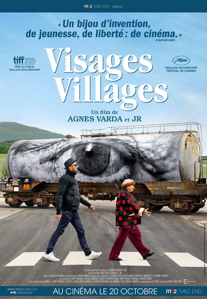 Visages villages Large Poster