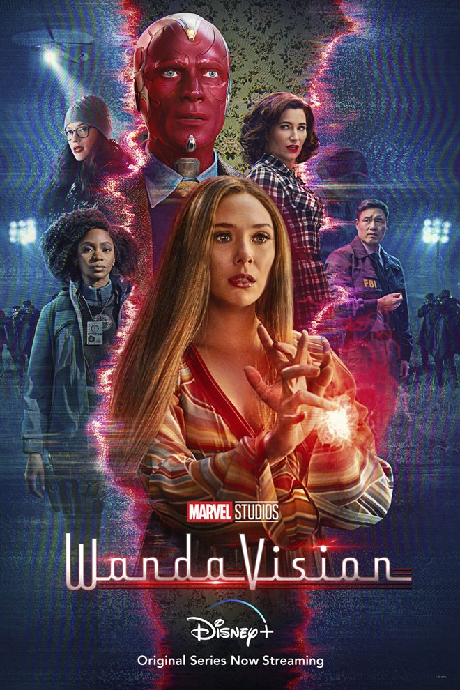 WandaVision (Disney+) Large Poster