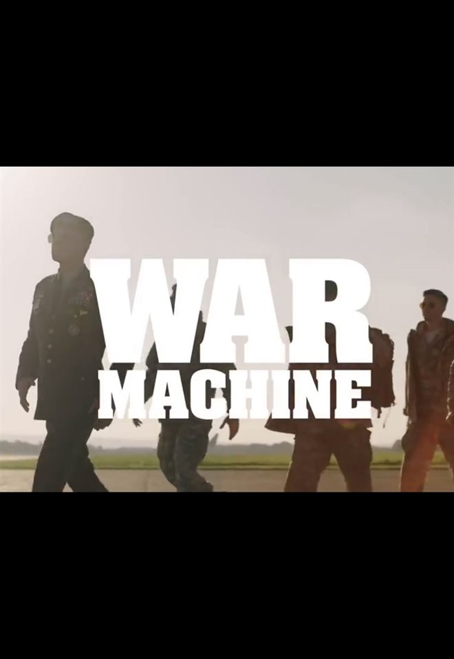 War Machine (Netflix) Large Poster
