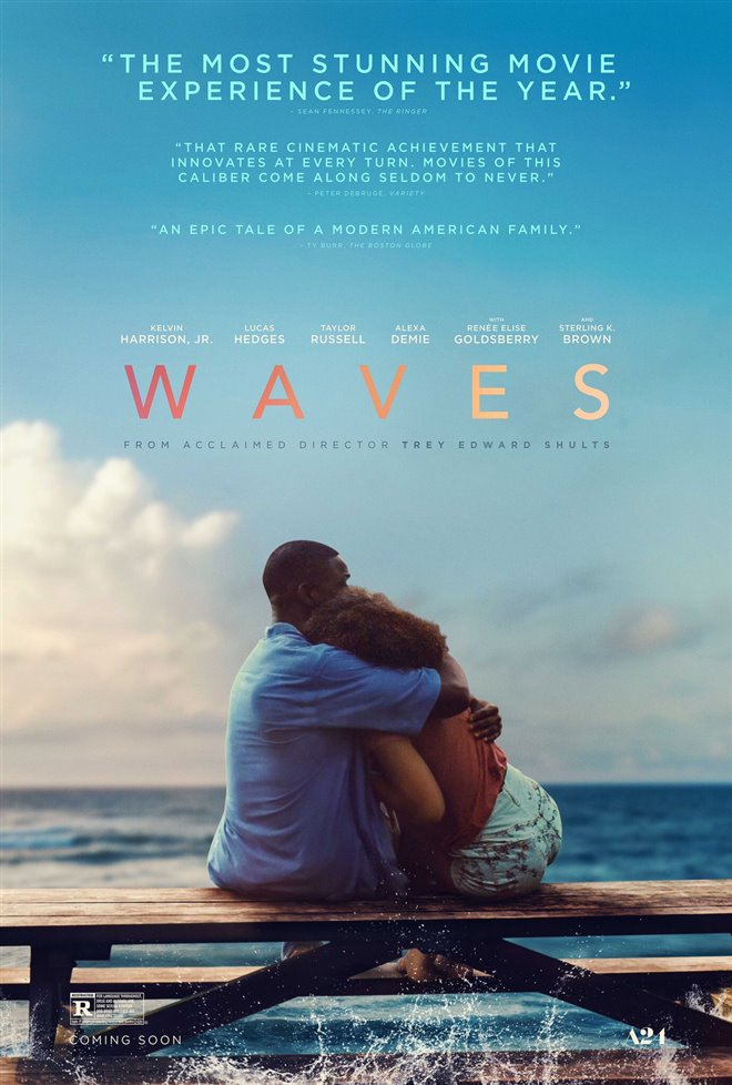 Waves Large Poster