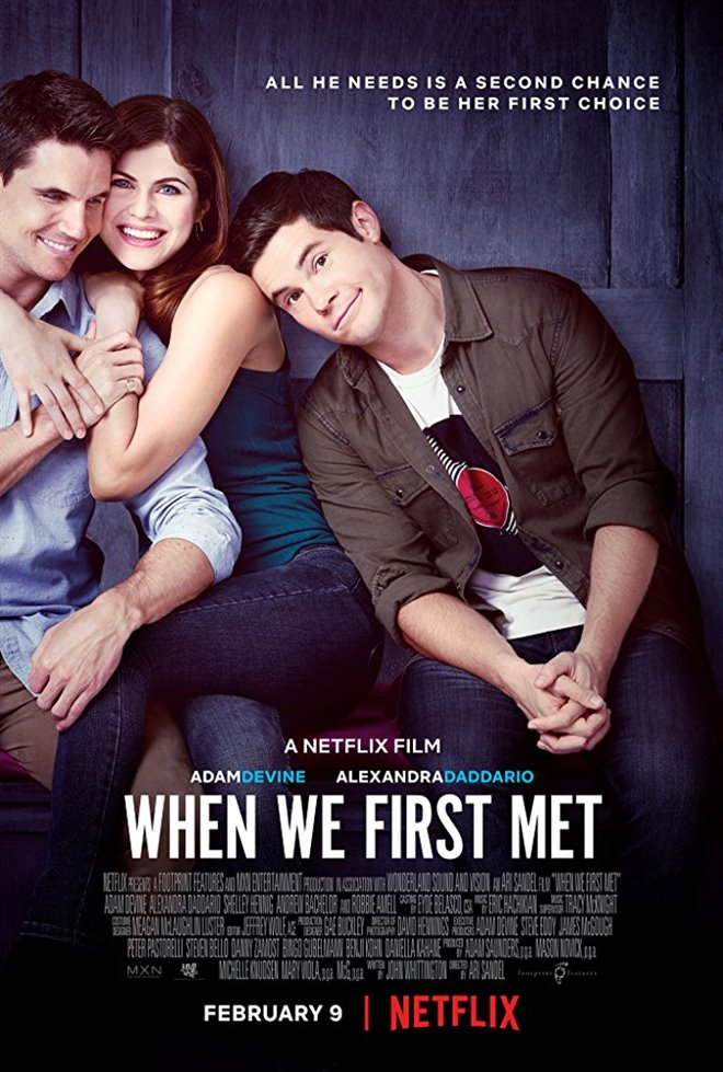 When We First Met (Netflix) Large Poster