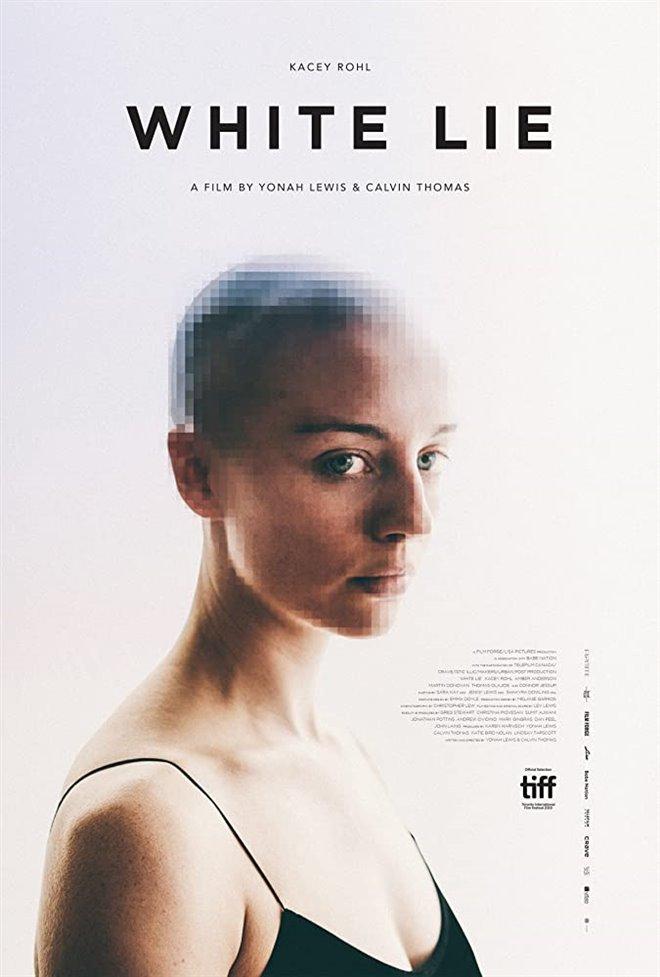 White Lie Large Poster
