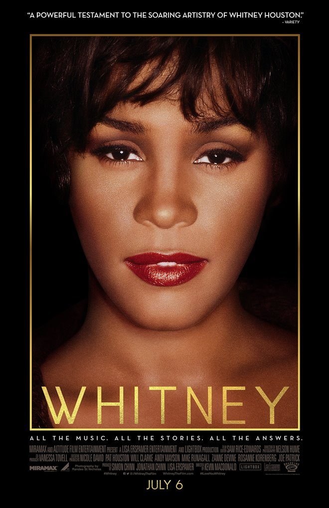 Whitney Large Poster