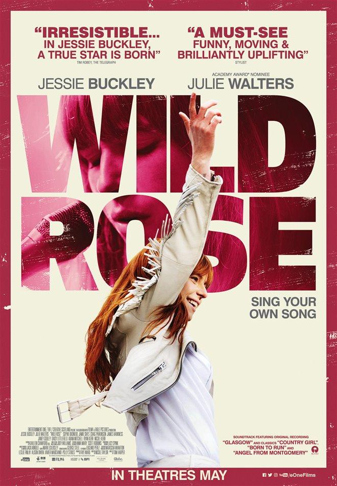 Wild Rose Large Poster