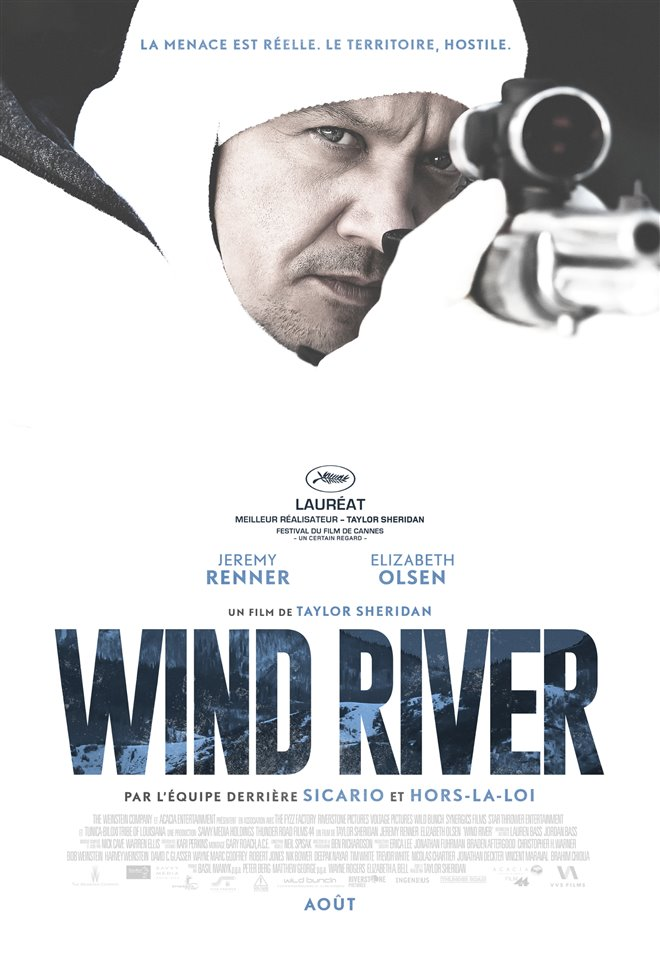 Wind River (v.f.) Large Poster