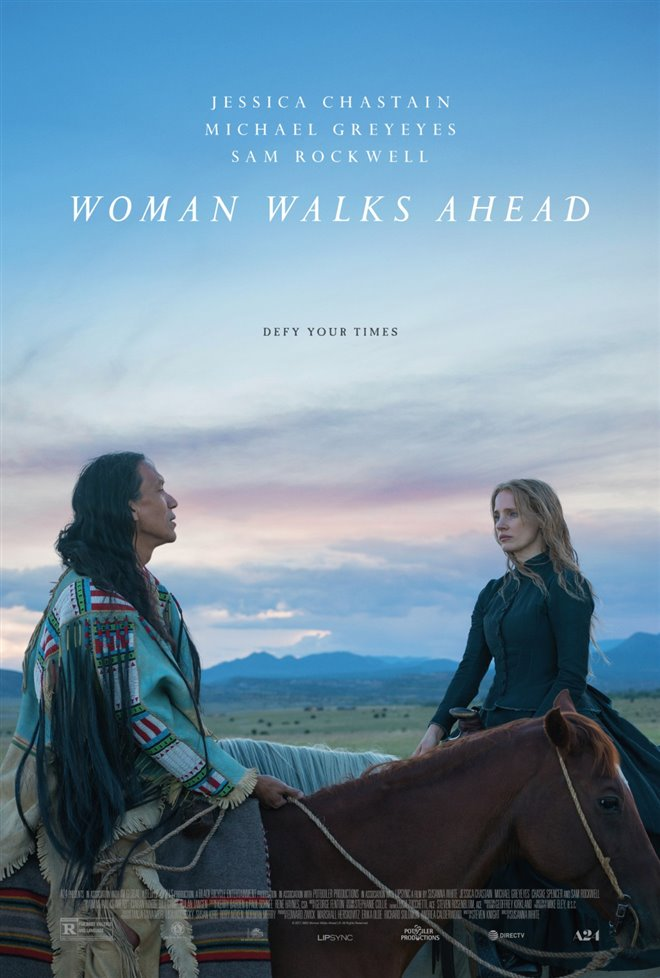 Woman Walks Ahead Large Poster