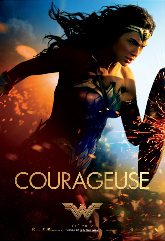 Wonder Woman (v.f.) Large Poster