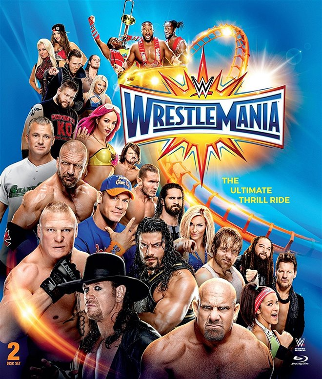 WWE Wrestlemania 33 Large Poster
