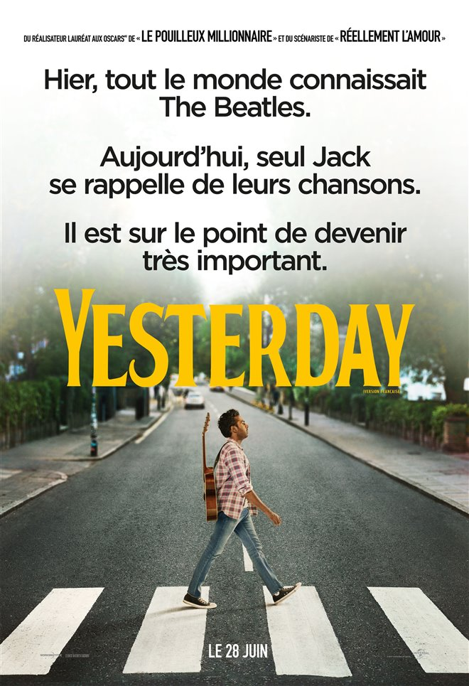 Yesterday (v.f.) Large Poster