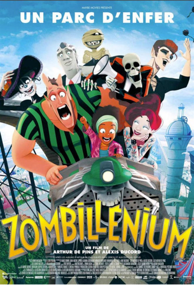 Zombillénium (v.o.f.) Large Poster
