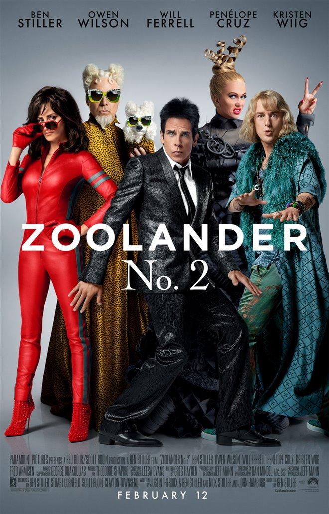 Zoolander 2 Large Poster