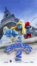 The Smurfs 2 motion poster