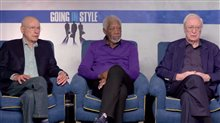 Alan Arkin, Morgan Freeman & Michael Caine Interview