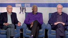 Alan Arkin, Morgan Freeman & Michael Caine Interview