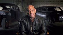 Vin Diesel Interview - The Fate of the Furious Poster
