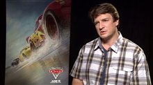 Nathan Fillion Interview - Cars 3 Poster