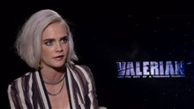 Cara Delevingne Interview - Valerian and the City of a Thousand Planets Poster