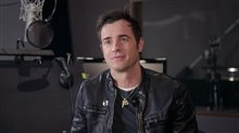 Justin Theroux Interview - The LEGO NINJAGO Movie Poster