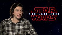 Adam Driver Interview - Star Wars: The Last Jedi Poster