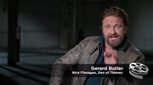 Gerard Butler Interview - Den of Thieves Poster