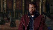 Chadwick Boseman Interview - Black Panther Poster