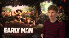Eddie Redmayne Interview - Early Man Poster