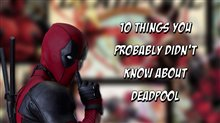 10 Things You Probably Didn't Know About Deadpool Poster