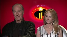 Craig T. Nelson & Holly Hunter Interview - Incredibles 2 Poster