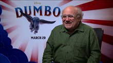 Danny DeVito talks 'Dumbo' Poster