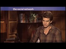 Andrew Garfield (The Social Network) Video
