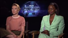 Scarlett Johansson and Danai Gurira talk 'Avengers: Endgame' Video