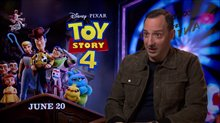 Tony Hale talks 'Toy Story 4' Poster