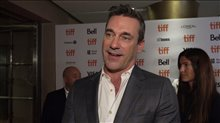 Jon Hamm talks 'Lucy in the Sky' at TIFF 2019 Video