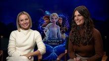 Kristen Bell & Idina Menzel talk about 'Frozen II' Video