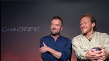 Richard Dormer & Jerome Flynn talk 'Game of Thrones' Video