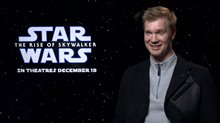 Joonas Suotamo talks about playing Chewbacca in the Star Wars films Video