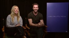 Sam & Aaron Taylor-Johnson talk 'A Million Little Pieces' Video