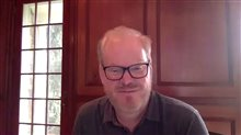 Jim Gaffigan talks 'The Pale Tourist' Video