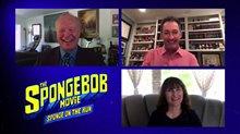 Bill Fagerbakke & Tom Kenny talk 'The SpongeBobMovieSponge on the Run' Video