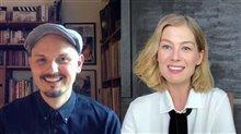 J Blakeson & Rosamund Pike talk 'I Care a Lot' Video