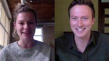 Anna Maguire & Jesse LaVercombe talk 'Violation' during TIFF 2020 Video