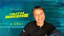 Emma D'Arcy talks 'Truth Seekers' Video