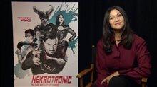 Monica Bellucci talks 'Nekrotronic' Video