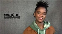 Letitia Wright talks about playing Altheia Jones-Lecointe in 'Mangrove' Video